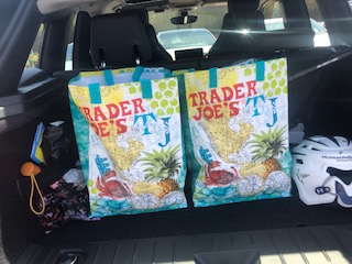 Trader Joes re-useable bags 99 cents each