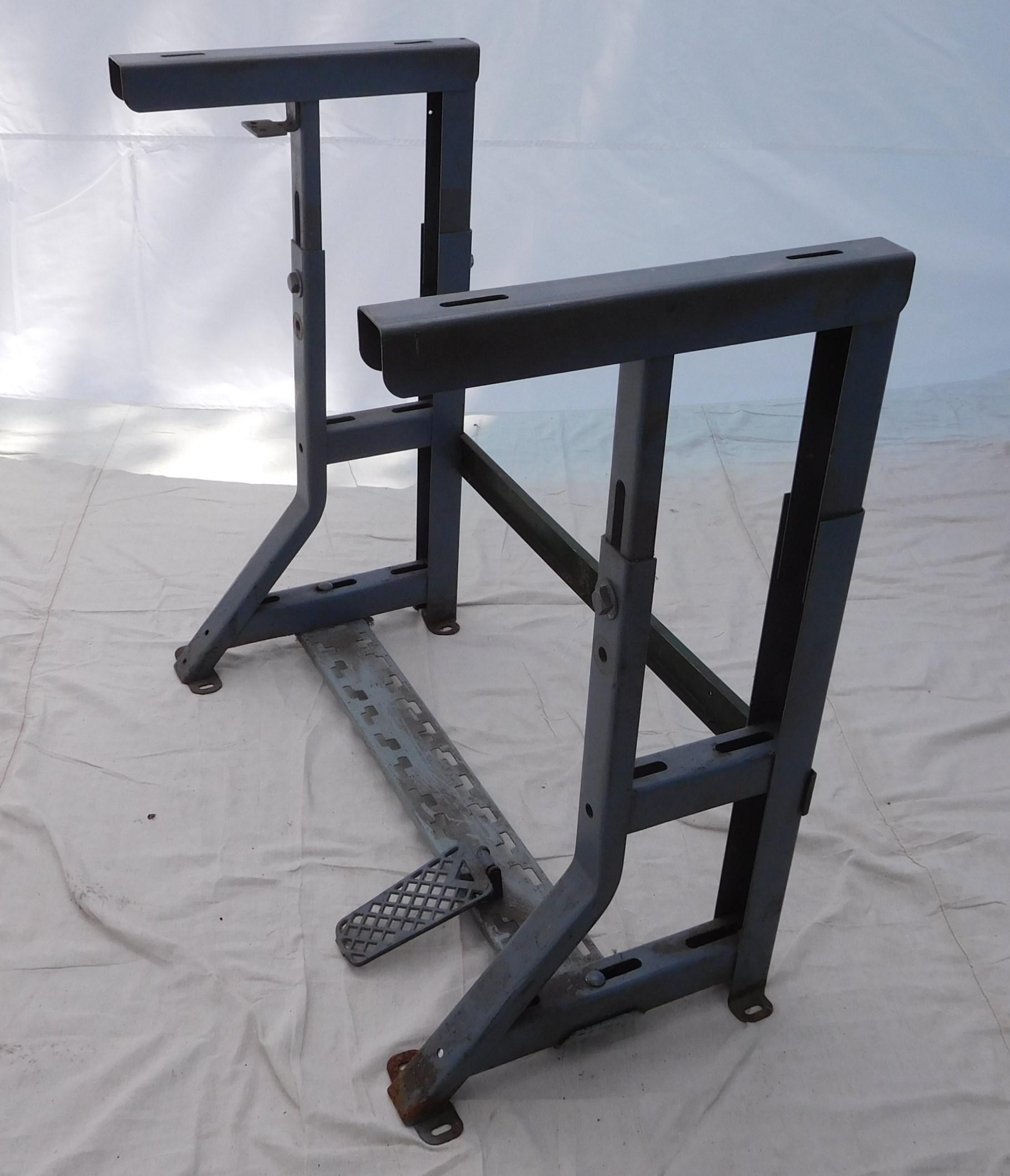 """Industrial Sewing Machine K-Leg 33 L x 17 W x 24-32.5"""" H"""