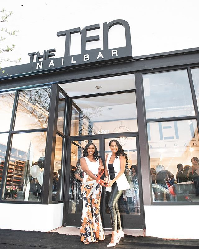 Joy. Excitement. Gratitude. And an outpouring of love and support filled our new location in the New Center neighborhood this day. New territory, we are ready for you! 🙌🏽 The TEN New Center @thetennailbar is officially open! Come see us! 💅🏽🤗