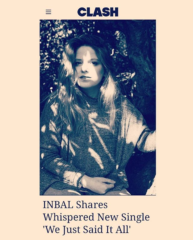 WE JUST SAID IT ALL 'has a gently uplifting, melodic feel'... Thanks again 𝗖𝗹𝗮𝘀𝗵 𝗠𝗮𝗴𝗮𝘇𝗶𝗻𝗲 for the warm words and continues support! ✨ Read the full feature on @clashmagazine #inbal_music