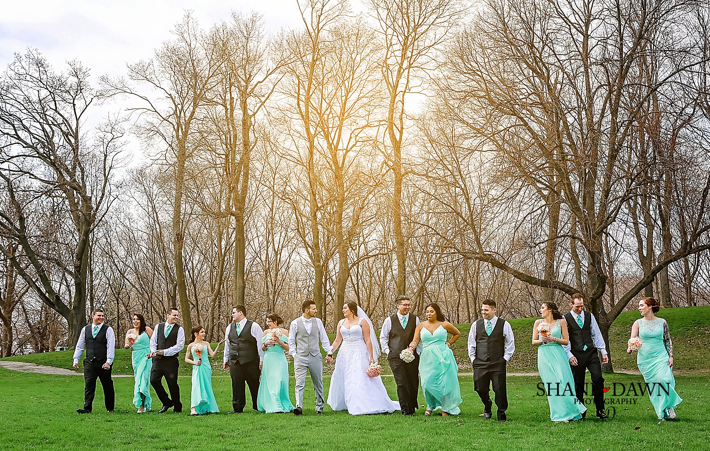 Dundurn Castle Dinosaur wedding party.JPG