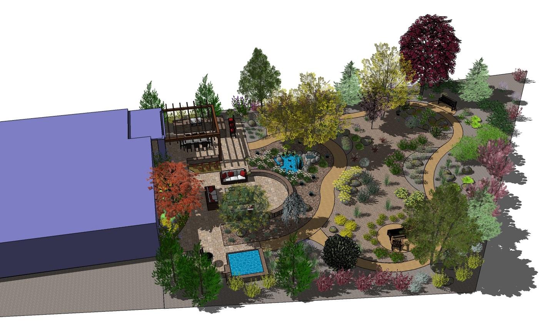 3D landscape design in Sparks, Nevada
