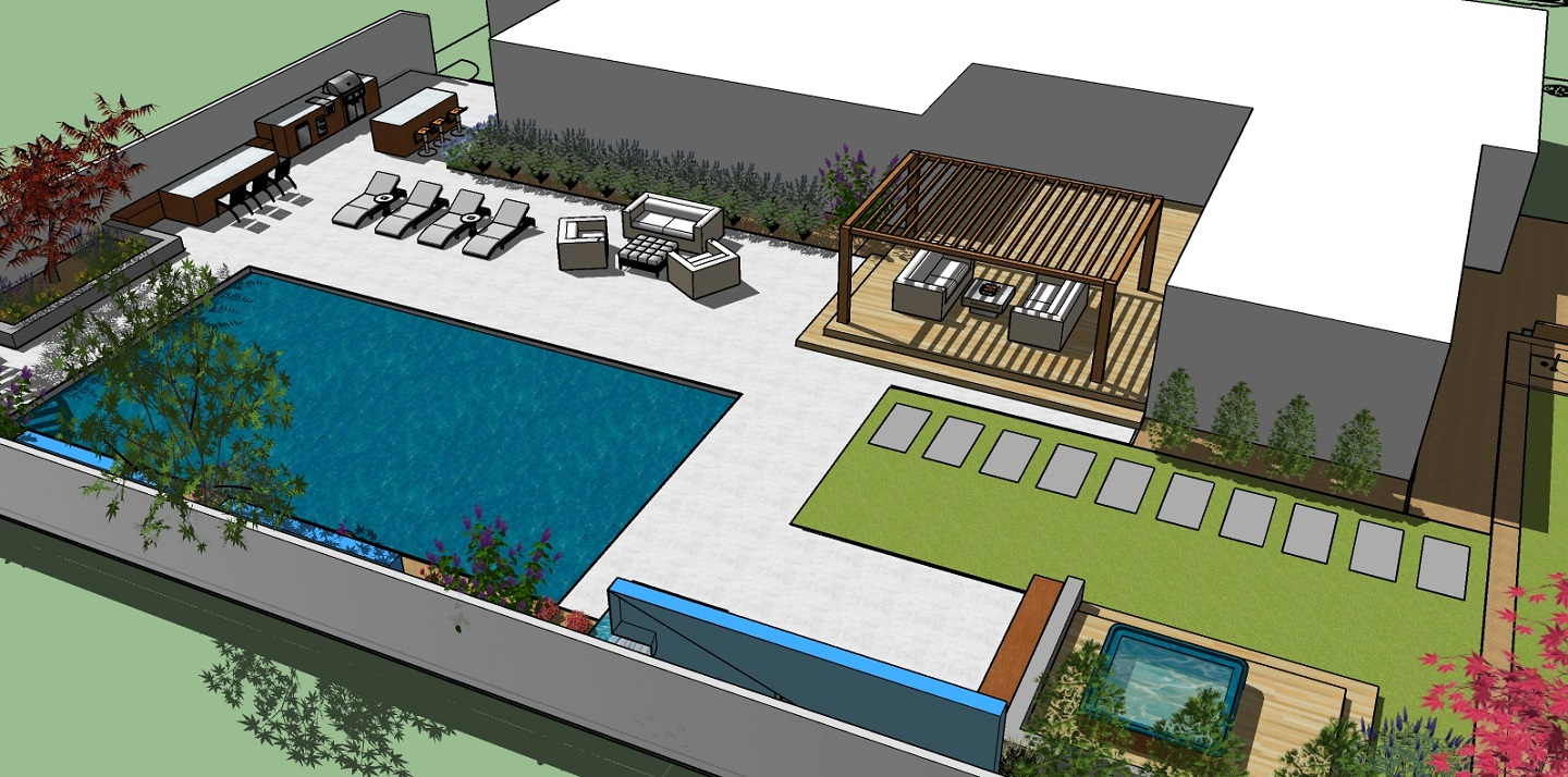Folsom CA top landscape architecture for outdoor living area