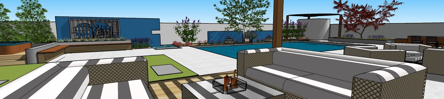Outdoor kitchen and pool designs in Sparks, Nevada