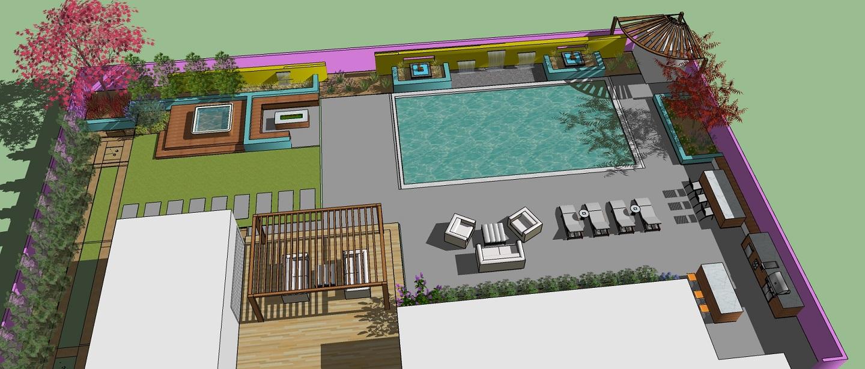 Outdoor living landscape design in Sparks, NV
