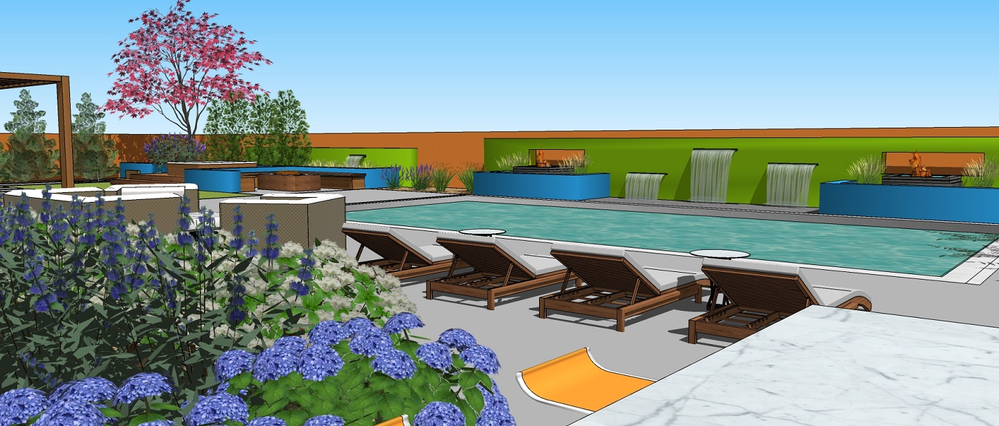 Patio pavers in Sparks, NV with stunning pool designs