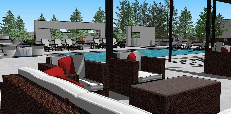 Pool desgins with stunning patio ideas in Folsom, CA
