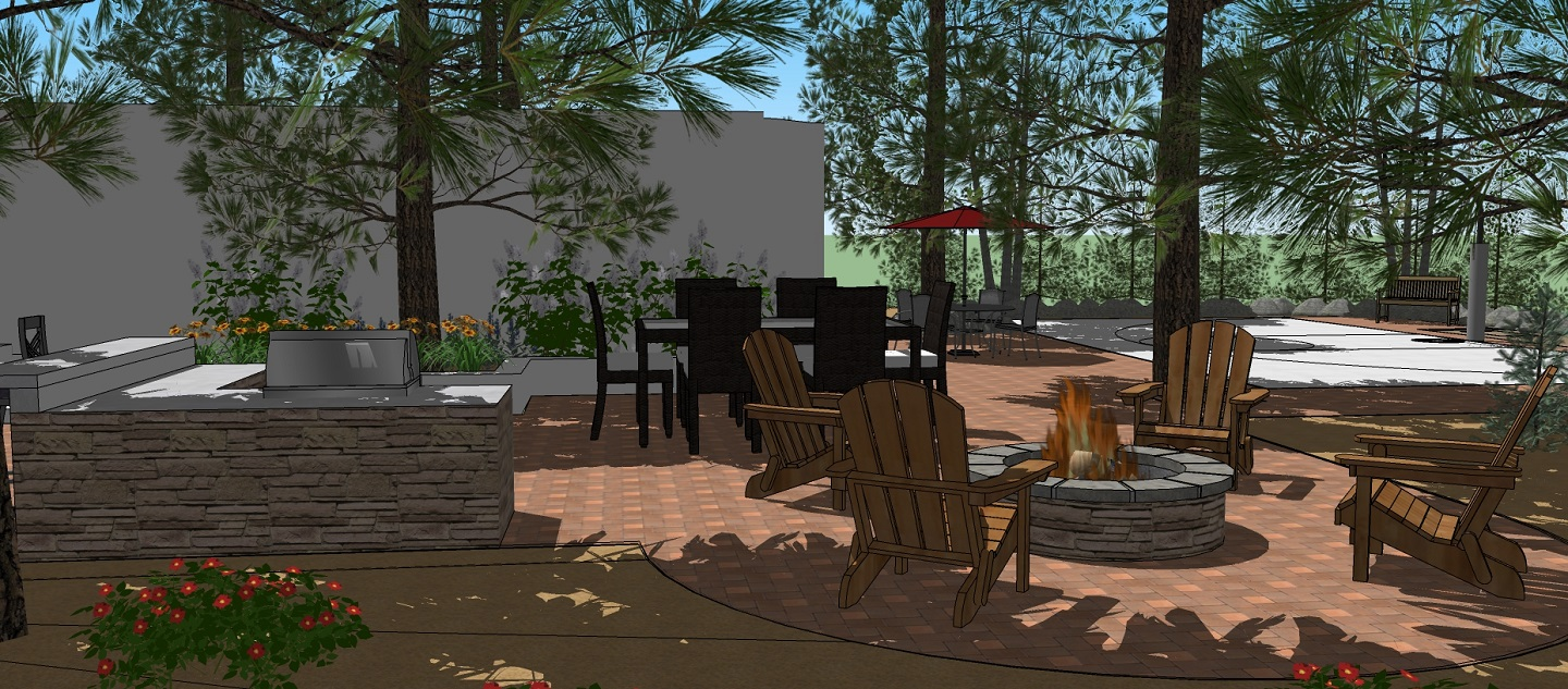 Landscaping services by landscape contractors in Folsom, CA