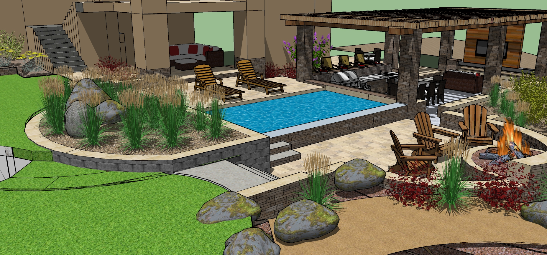 Why Having a Personalized Custom Landscape Design for Your Loomis, CA, Home Matters