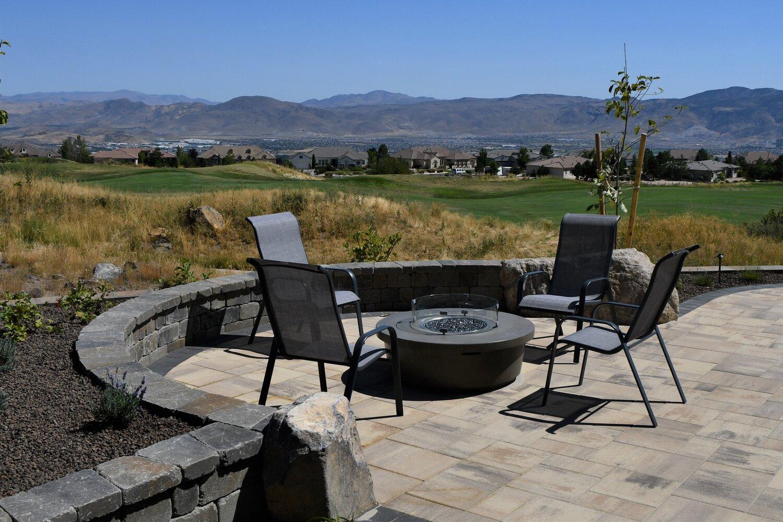 Outdoor Living Landscape Contractors Design Patio Retaining Wall Reno Nv Sparks Nv Firesky Outdoor