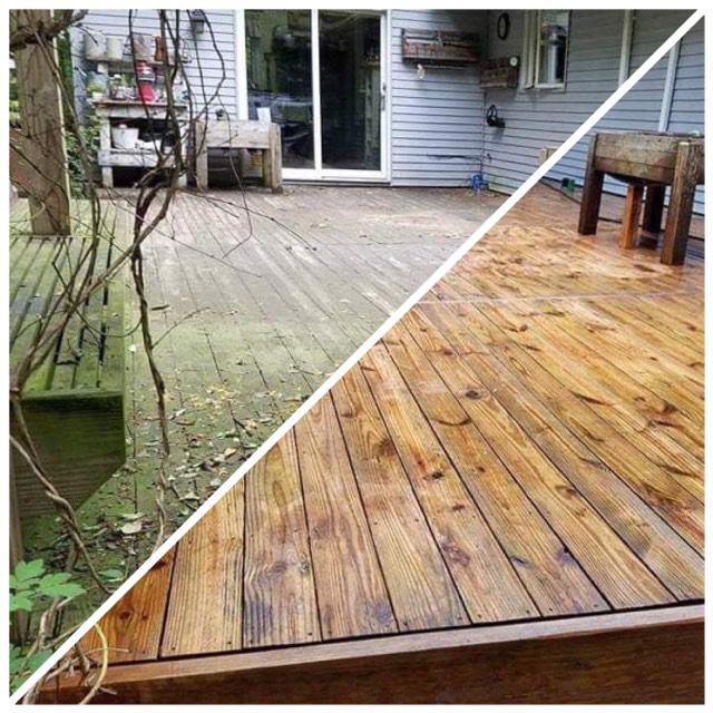 Deck & Fence Cleaning -