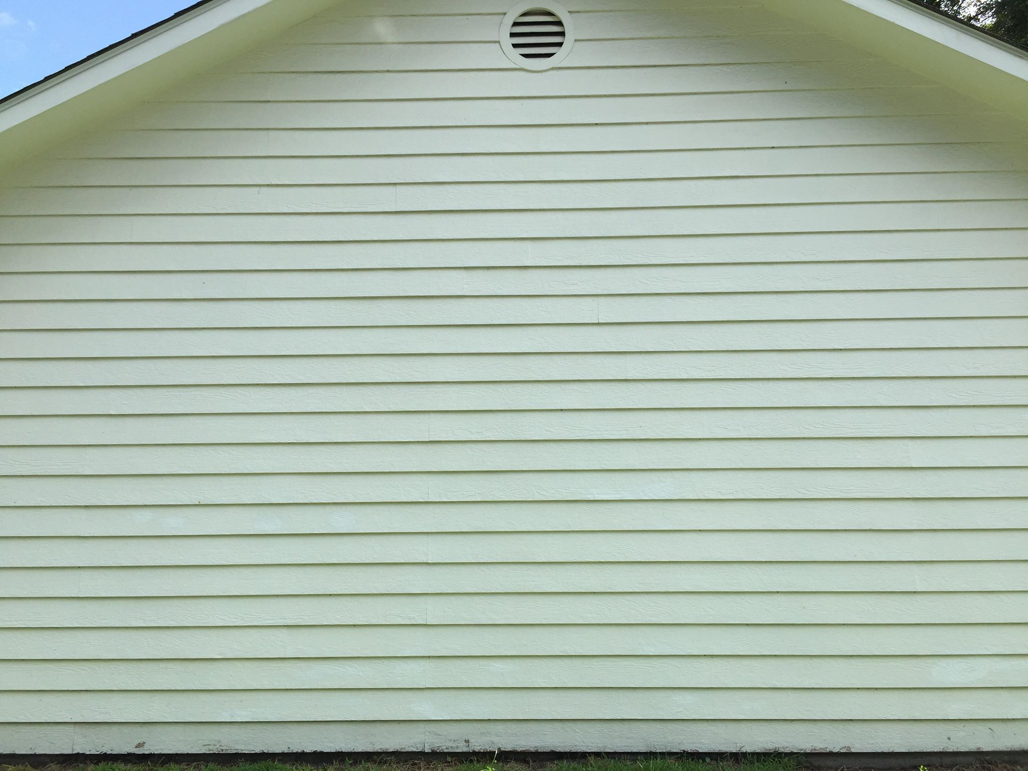After Siding Washing -