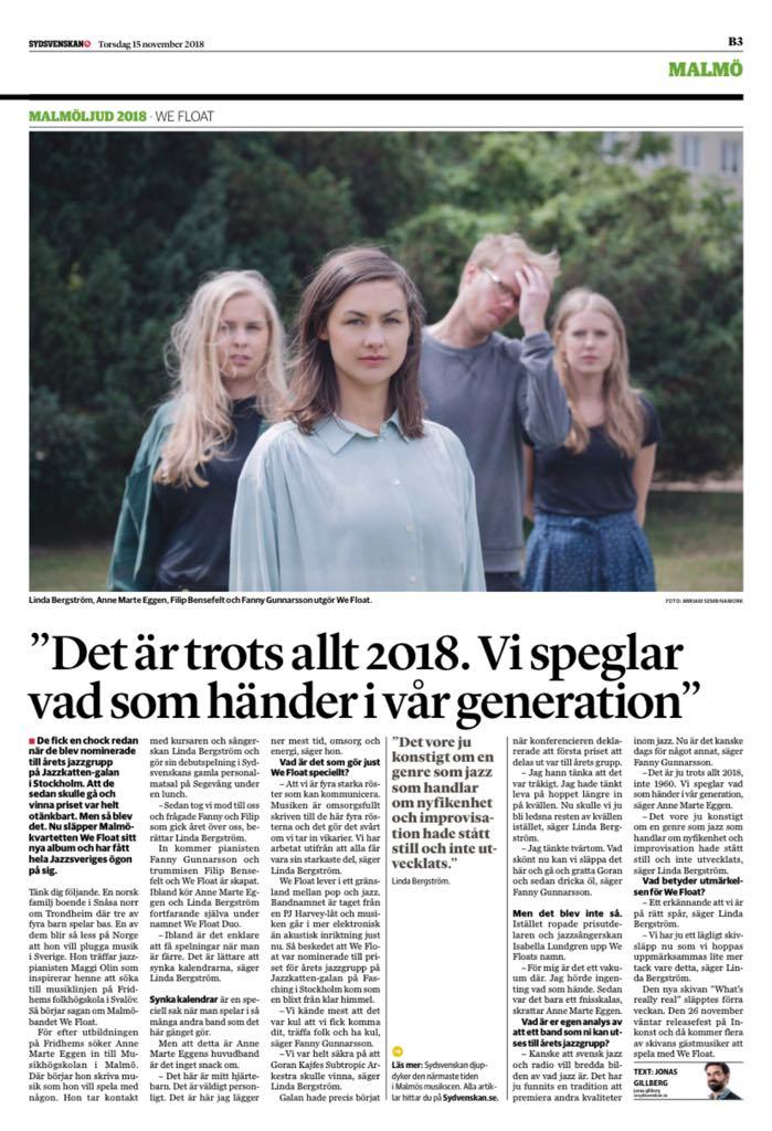 Intervju med WF i Sydsvenskan 15:11 2018.jpg