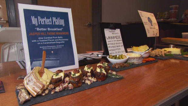 Some tasty entries at the Cheesemonger Invitational. CBS News