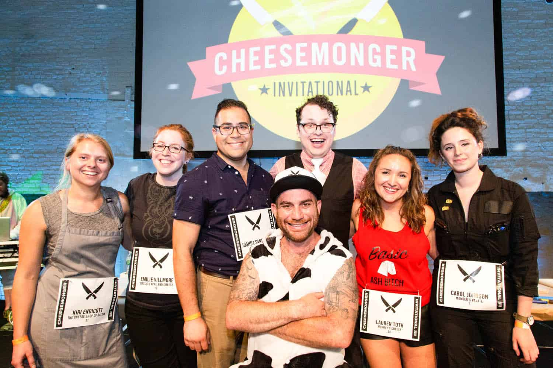 Adam Moskowitz and the CMI finalists. Photo Credit Kathryn M. Sheldon.