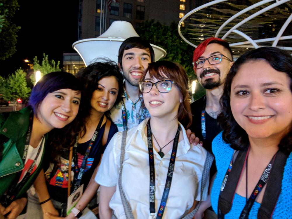 Smok, Vania Soto, Gonzalo Alvarez, Grace Chadwick, Cody Jimenez, and Dianita Cerón