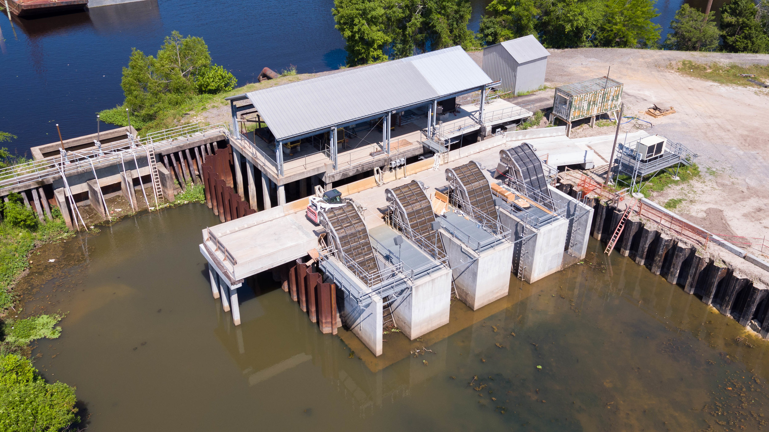 UAV Spillway Dam Inspection New Orleans Aerial Photography Foley Aerial Services