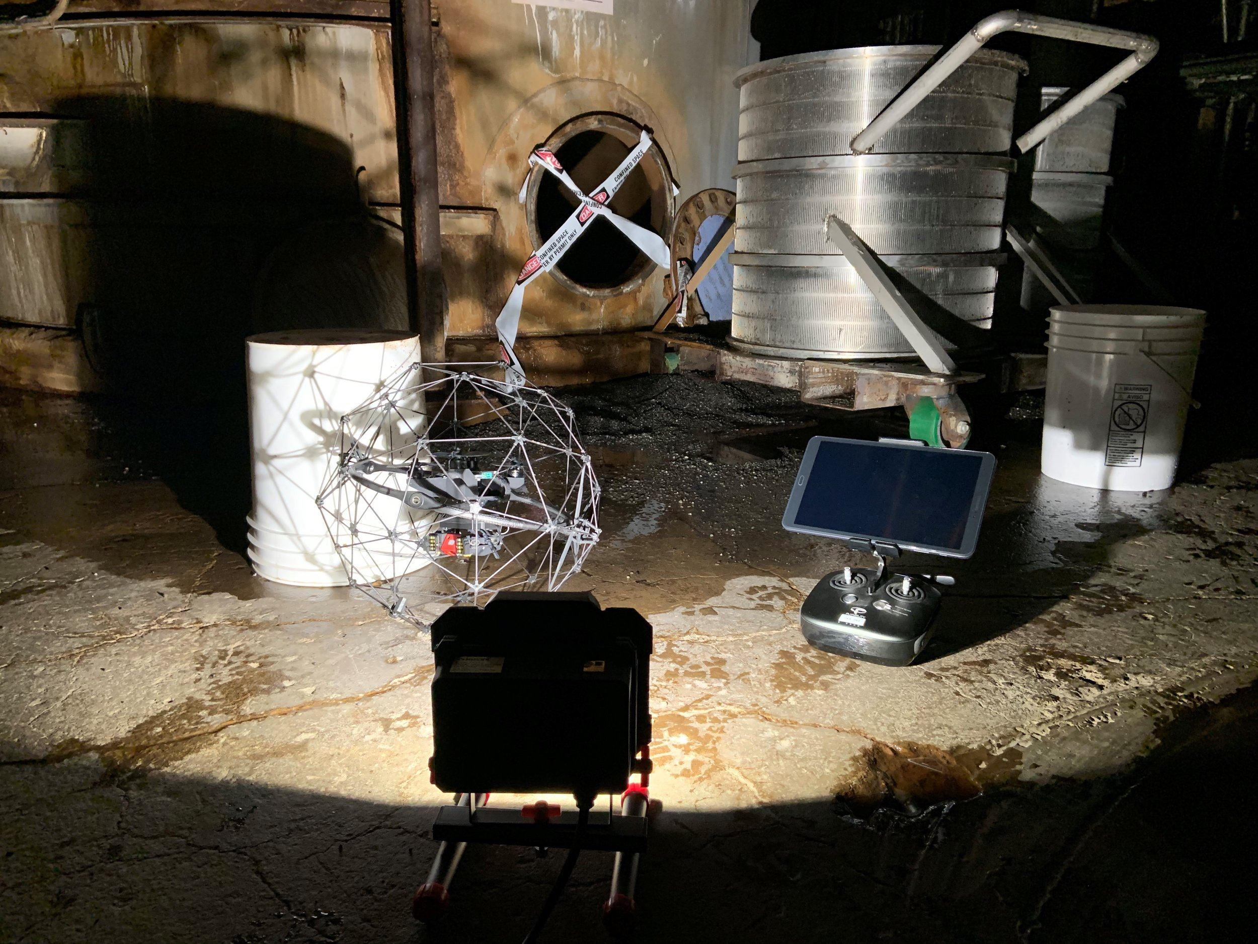 Confined Space Drone Services Baton Rouge Foley Aerial Services