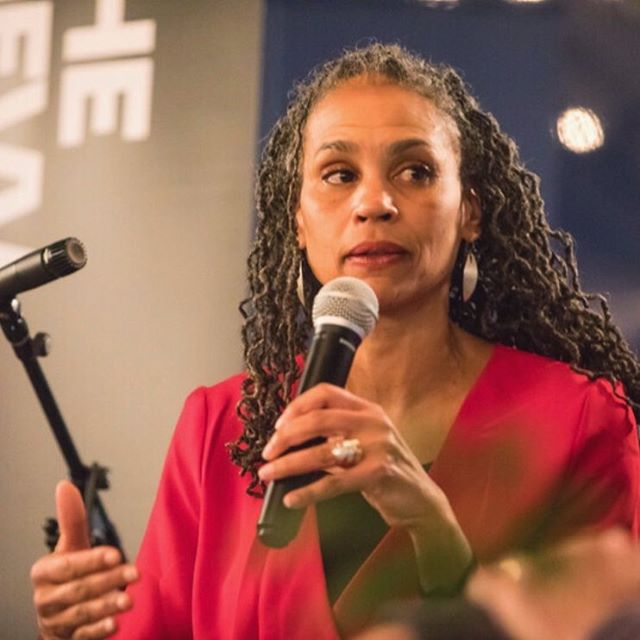 #NewEpisodeAlert!!! Dismantle a Wall with Words: A conversation between Maya Wiley @mwesq - News Analyst @msnbc and Alex Aleinikoff. Listen Today! . . . . . #refugees#migration#immigration#tempesttossed #TempestTossedPodcast#podcast#politics#thenewschool#ZolbergInstitute#politicalpodcast#podcastlive  A special thanks to our New School student and photographer @sarah_rocco_! 📸