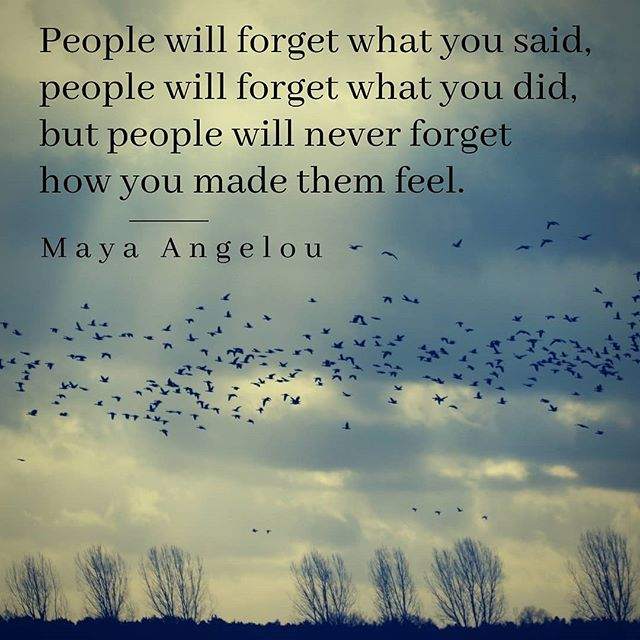 The most cherished people are often the ones who take the time to make others feel loved and heard and seen. . #MayaAngelou #MayaAngelouQuotes #InstaQuotes #QuoteoftheDay #Grief #People #Forget #Remember #HowYouMadeThemFeel #QOTD #InstaQuote #Love #Support #FindingYourself #AfterLoss #InMemoriam #InMemory #GriefSupport #Autumn #October #Memory #Recollections #Hope #HopeQuotes #Sunbeams