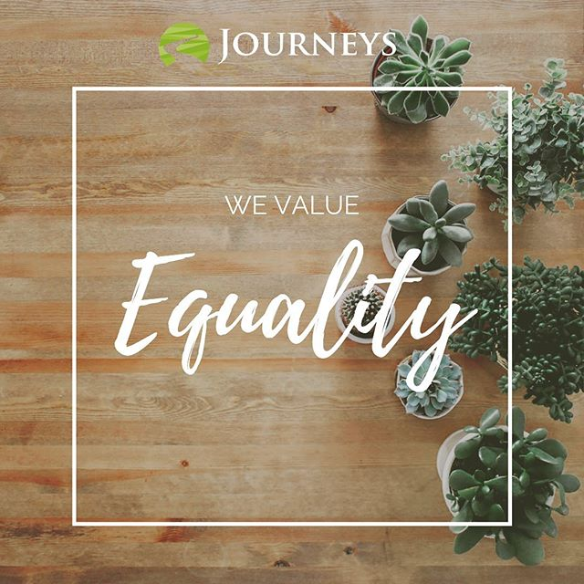 Here at @journeyscounselingaz, we believe that #equality helps to foster growth and a sense of belonging. We honor that each person is the expert of their own life and we love to collaborate with our clients as equals. #values #journeys #journeyscounseling #journeyscounselingcenter #tempe #tempeaz #tempearizona #mentalhealth #therapy #counseling