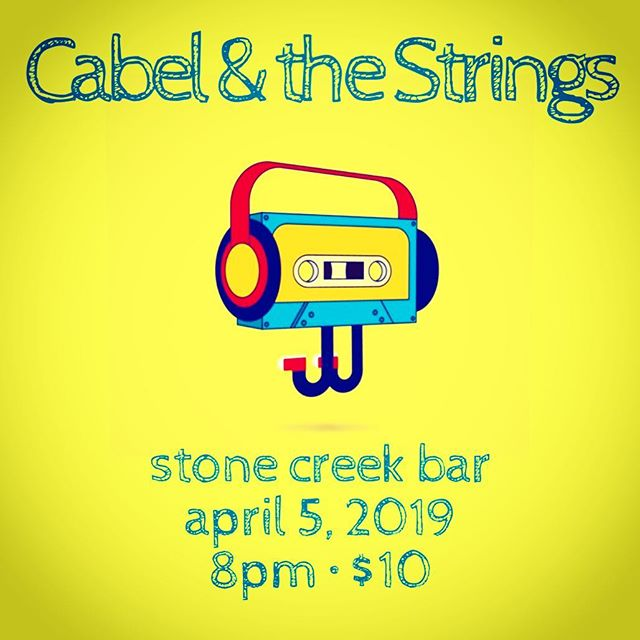 Clear your schedule on APRIL 5 to kick off the first Friday in style! T Shirt Raffle • Music • After Party ticket link ⬇️ cabelstrings.eventbrite.com 🎶 • • • • • • #livemusic #music #singer #live #concert #newmusic #acoustic #acousticguitar #singersongwriter #goodmusic #bar #band #nyc