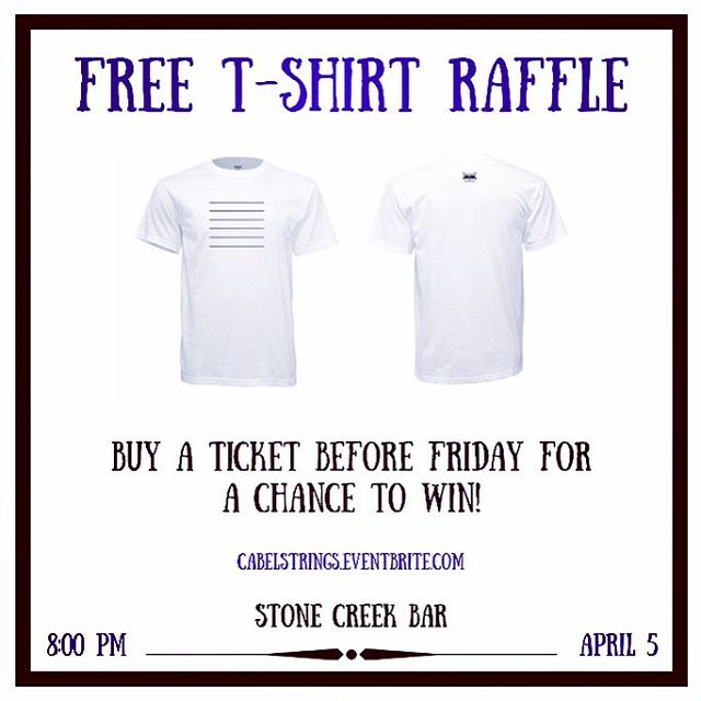Raffling off 10(!) shirts at the show this Friday. Buy a ticket BEFORE Friday to be eligible. You don't wanna be stuck on the sideline while other people get free stuff 🤷🏻♂️ • • • • • #nycmusic #nycmusicians #livemusic #freestuff #acousticguitar #guitar #nycconcerts