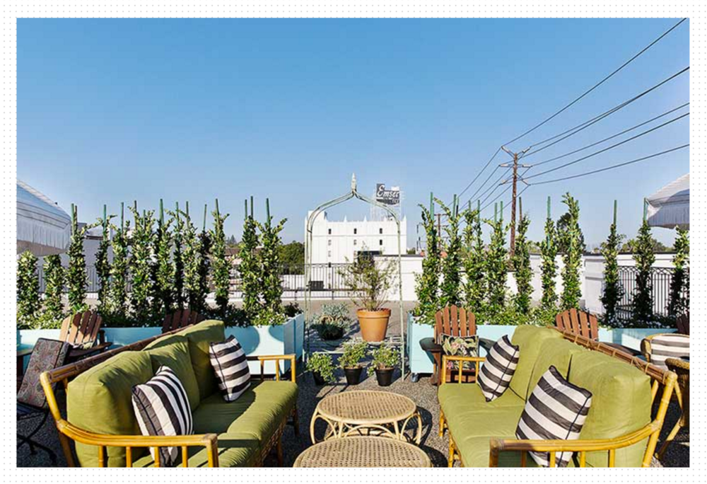 Photo of the PALIHOUSE ROOFTOP from http://www.palihousewesthollywood.com/gallery.php