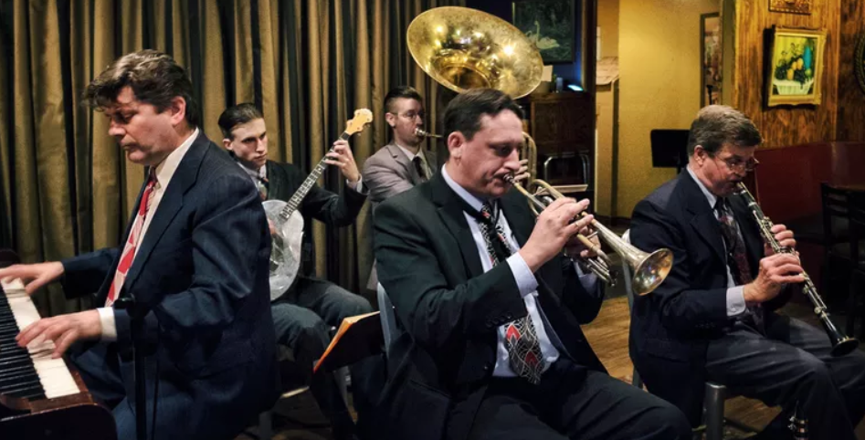 Formed in 2017, the Chicago Cellar Boys is a five-piece band specializing in the jazz and hot dance music of the 1920s and 30s.  The Chicago Cellar Boys strive to authentically play the jazz and hot dance styles of the 1920s. They do not simply recreate performances of past.  The Cellar Boys specialize in bringing America's forgotten musical era back to life in a way that excites both the astute listener and the casual music fan