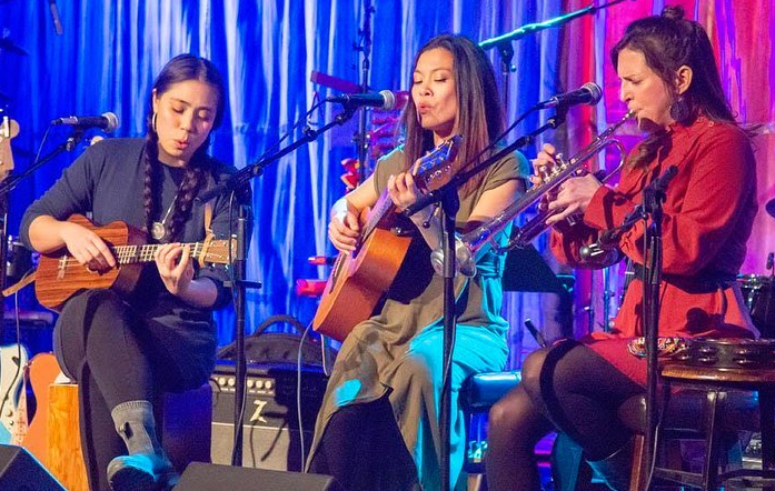 'The Oh Yeahs,' is an acoustic group featuring three of Chicago's top vocalists and multi-instrumentalists: Leslie Beukelman, Allison Orobia, and Sarah Marie Young. Each of these women has a diverse musical background, but they all have one thing in common: they love to make music and sing together, and it shows. 'The Oh Yeahs' sing and play a collection of music including original compositions, current pop hits, showcasing their signature sound of folky three-part harmonies, and classics by artists such as Johnny Cash, the Beatles, and Crosby, Stills, and Nash!