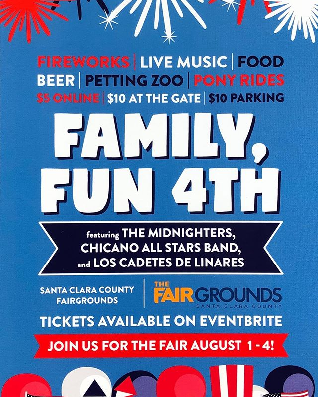 Come join us at the Fairgrounds for a family fun 4th of July at 2pm!  A day full of entertainment, kids activities, bounce houses, and more! Plus, top off the night with FIREWORKS!  Get your tickets online now at bit.ly/sccfg4thtickets $5 Online $10 At the door  Hope to see you there!