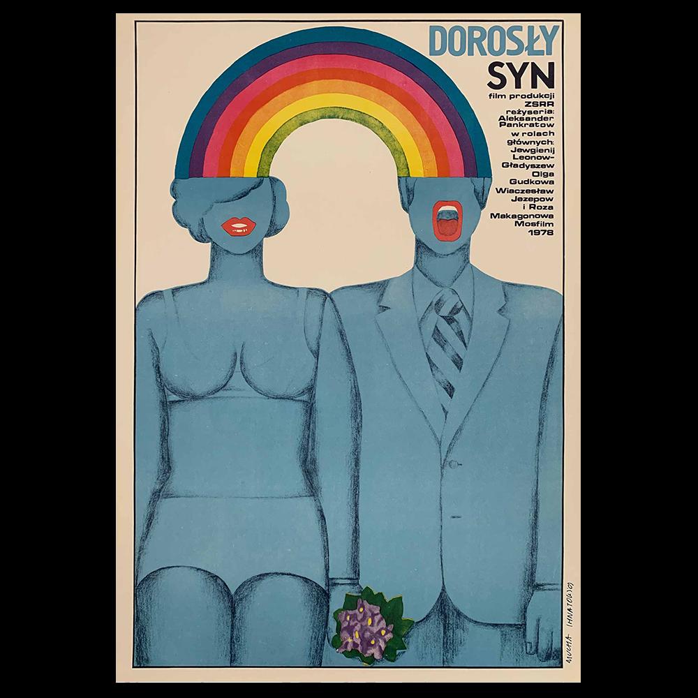 Holy Year Original Polish Poster /'1978 Maria Mucha Ihnatowicz art!
