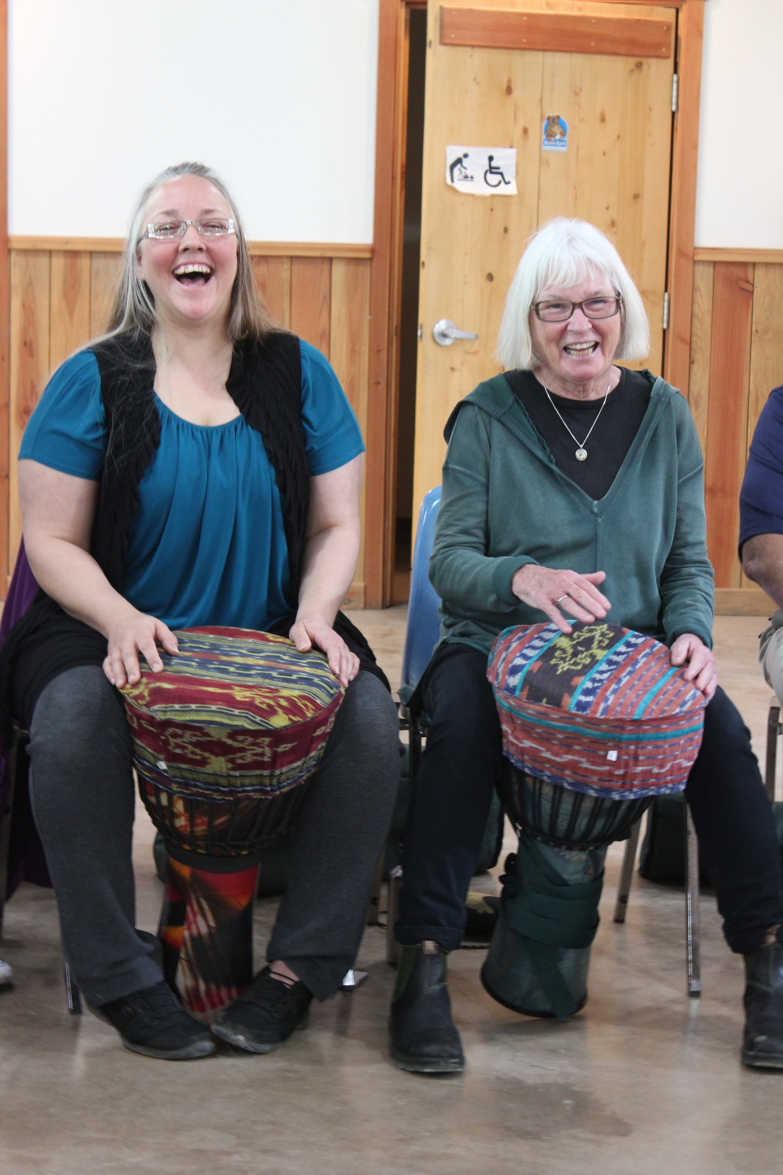 "What people are saying - ""Ptarmigan staff have shown themselves able to effectively engage marginalized populations in arts programming...we have witnessed many hard-to-reach clients engaging positively and able to express themselves and have noted that the music jam sessions have become an important part of the week for many client participants.""— Erin, Volunteer Coordinator, Cool Aid Society"