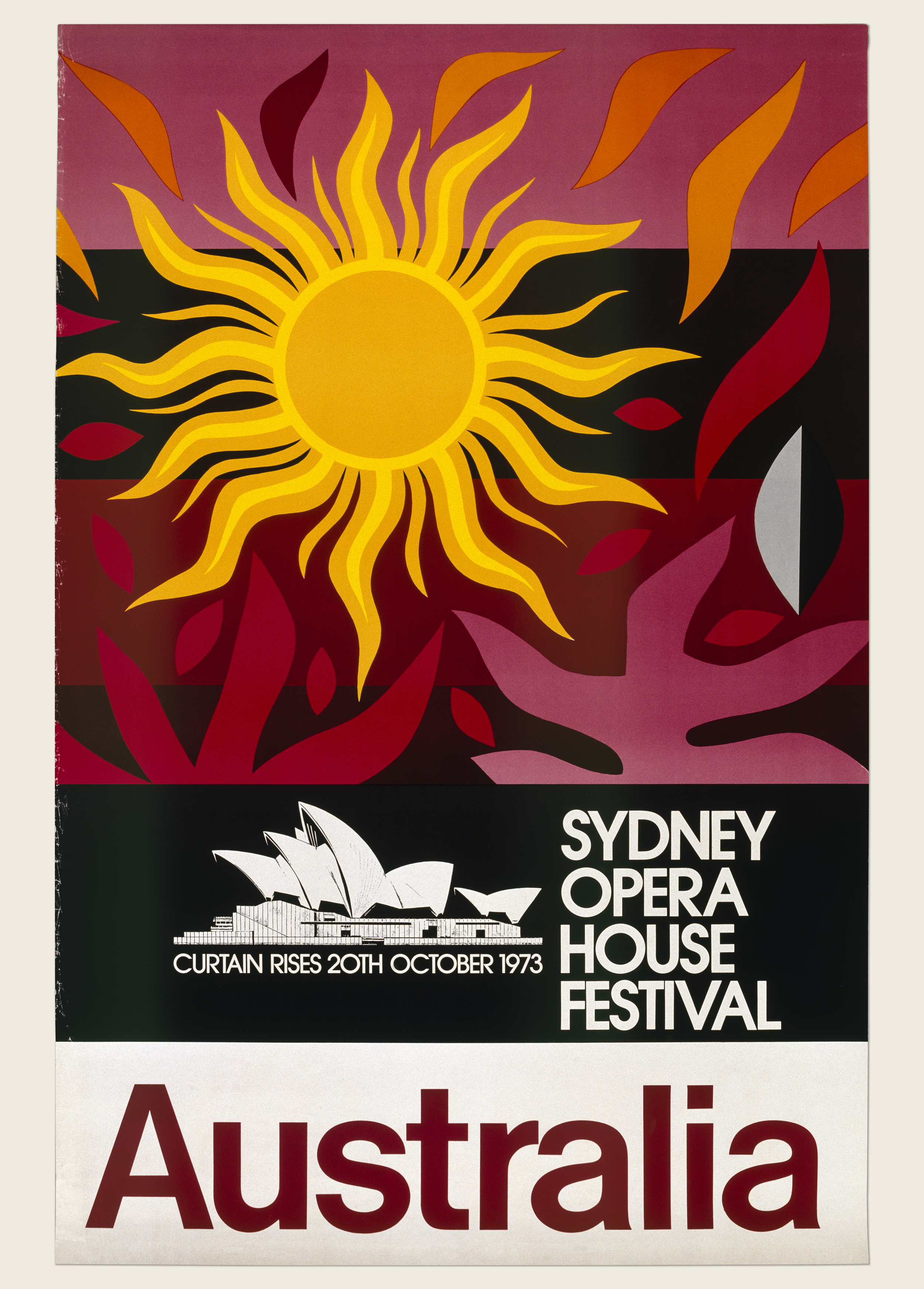 Sydney Opera House Festival Poster