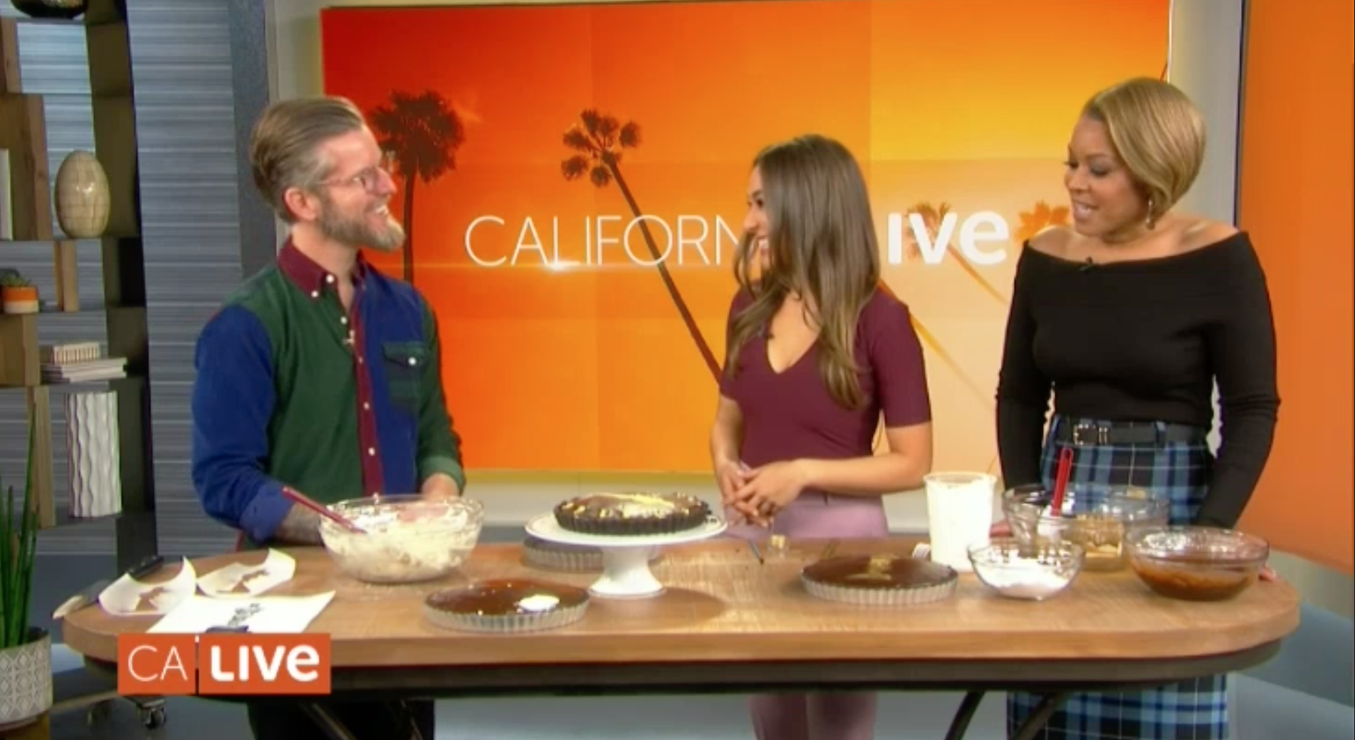 Learn to Make an Oscar-Worthy Dessert with Chris Tucker - NBC's California LIVE