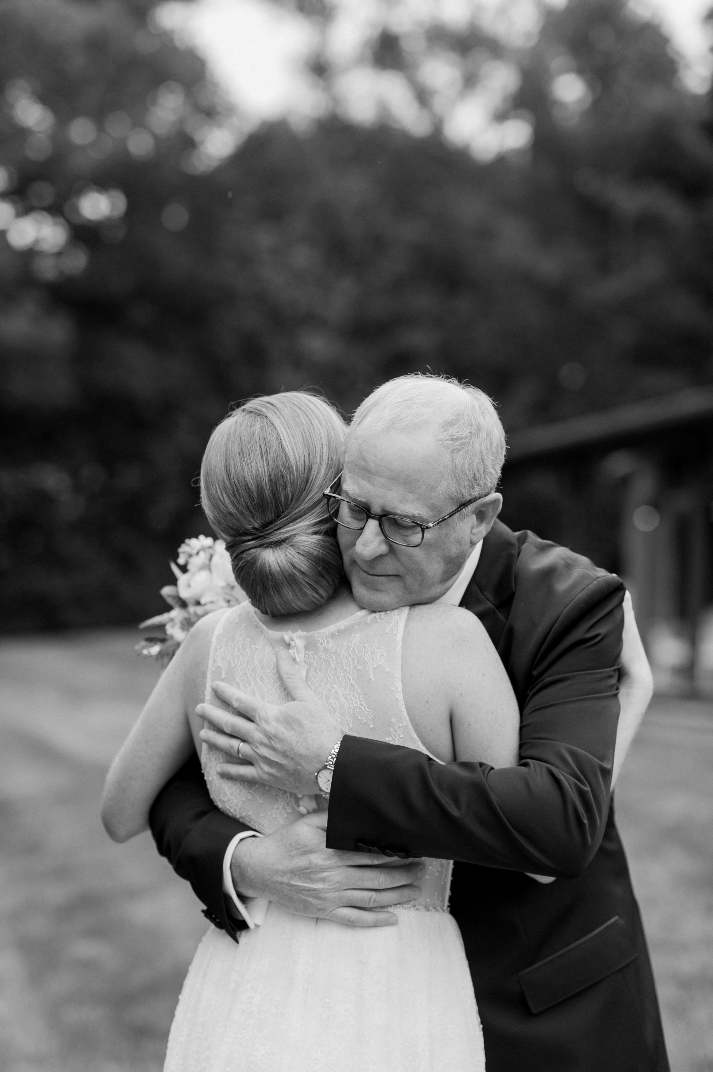 father daughter first look_iconic wedding CT.jpg