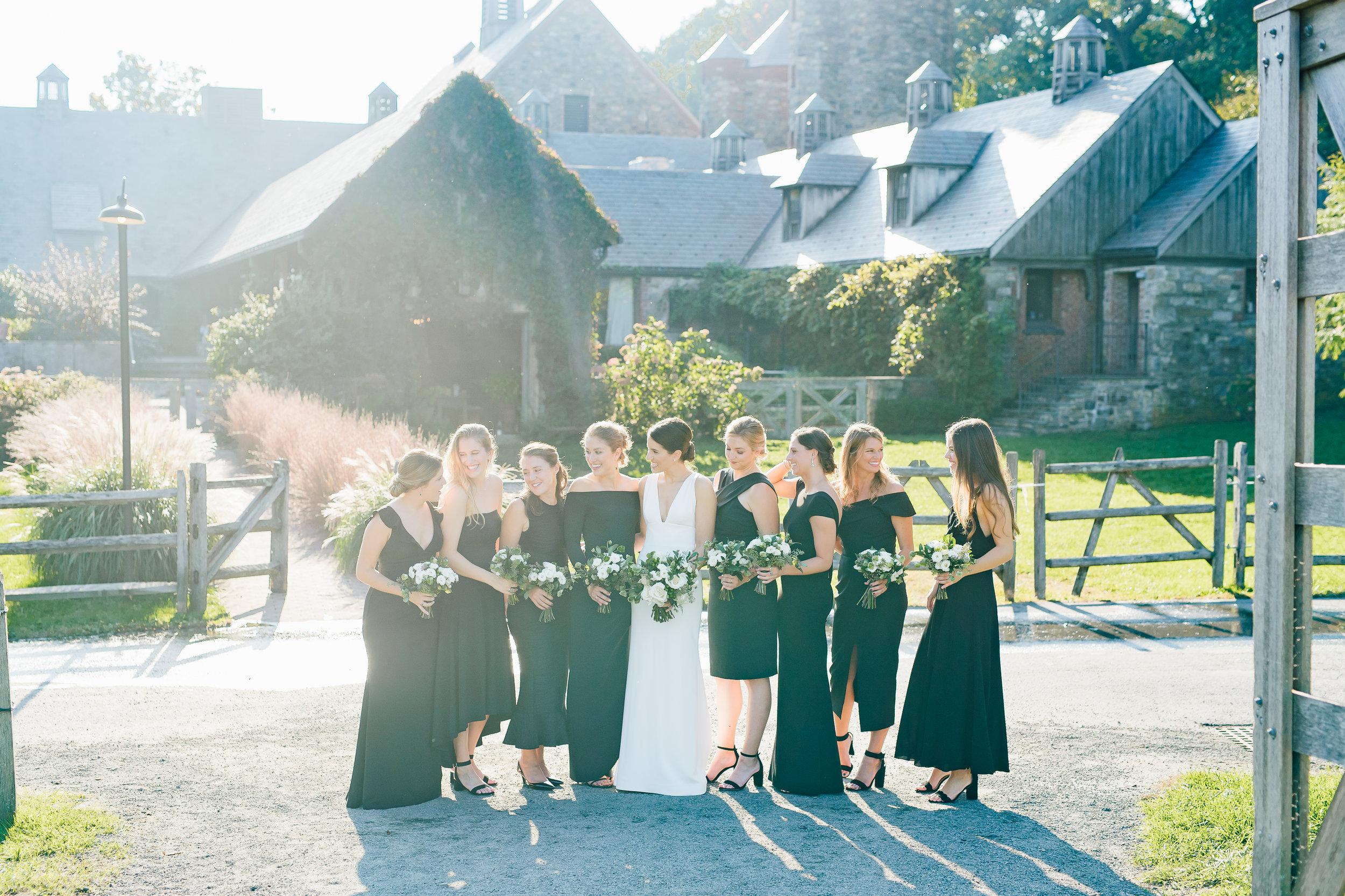 first look wedding photos CT_westport wedding first look_blue hills wedding photos NY