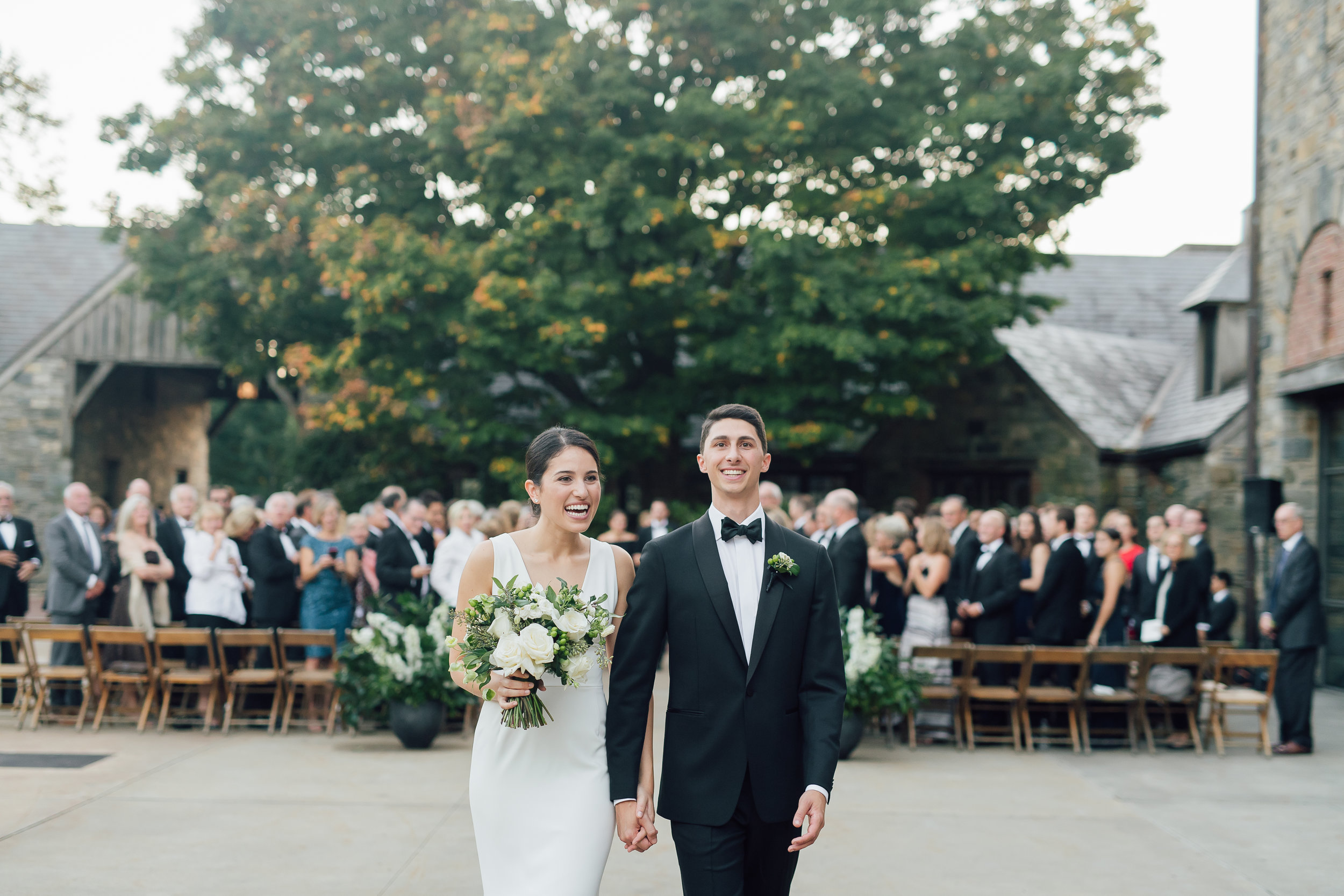 blue hill at stone barn wedding ceremony_blue hill wedding NY