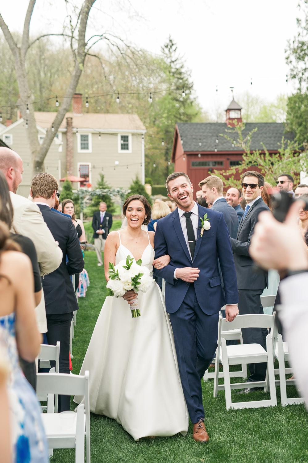 wedding processional lace factory_lace factory outdoor wedding ceremony