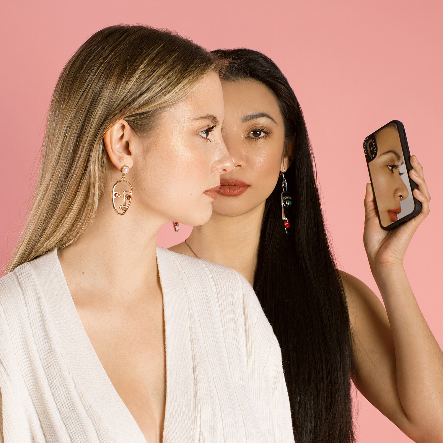 Seeing Double - A photo editorial featuring the launch of Casetify's reflective phone case. Directed, produced, and edited by me, Seeing Double uses perspective and post production magic to obtain its surreal flare.