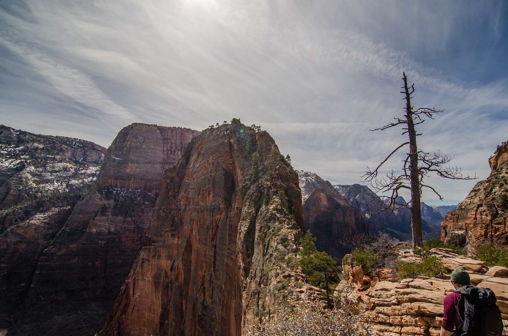 The insanity of Angel's Landing…. Wayyyyy too many people.