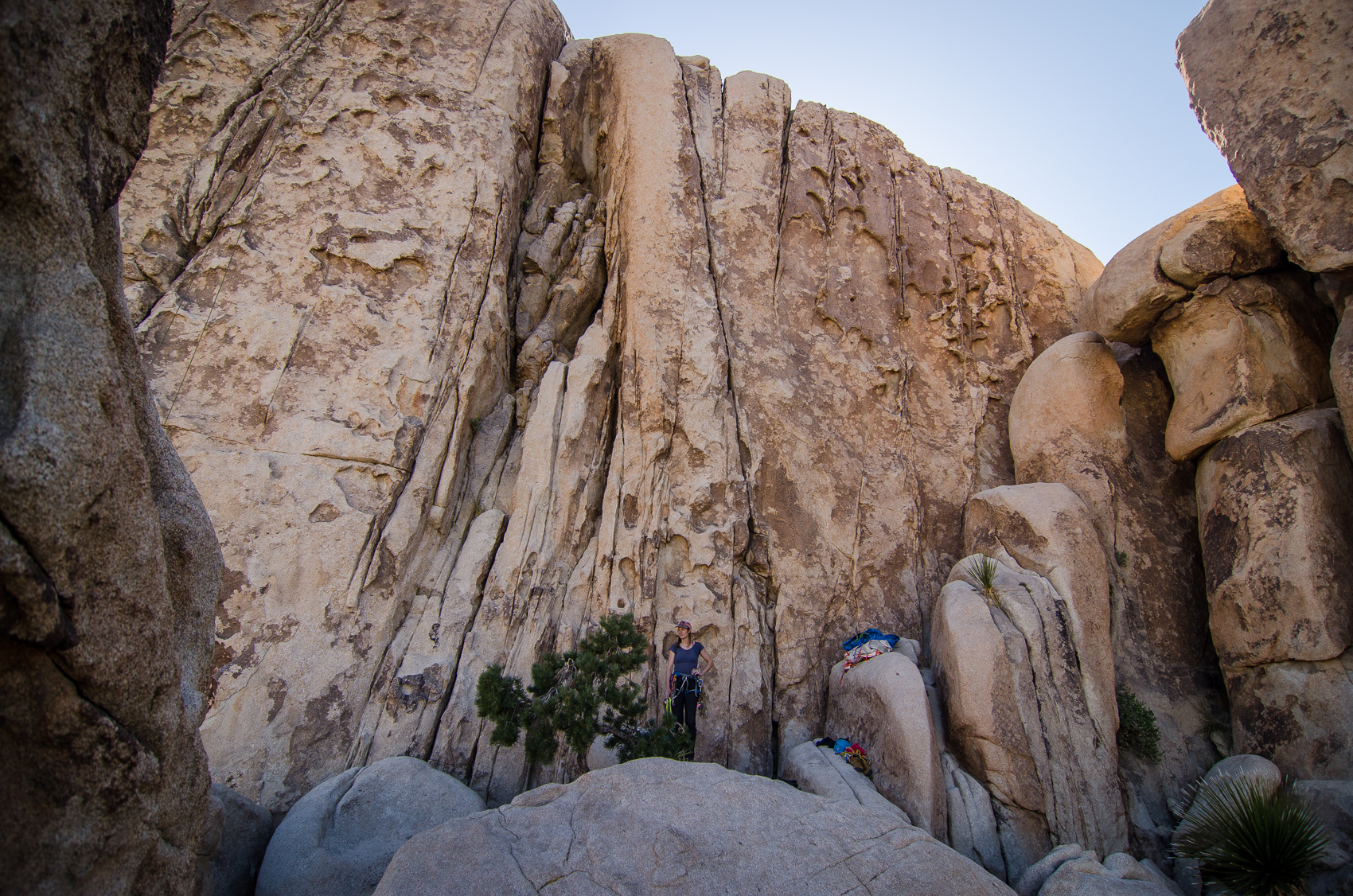 5.8 crack in Joshua Tree