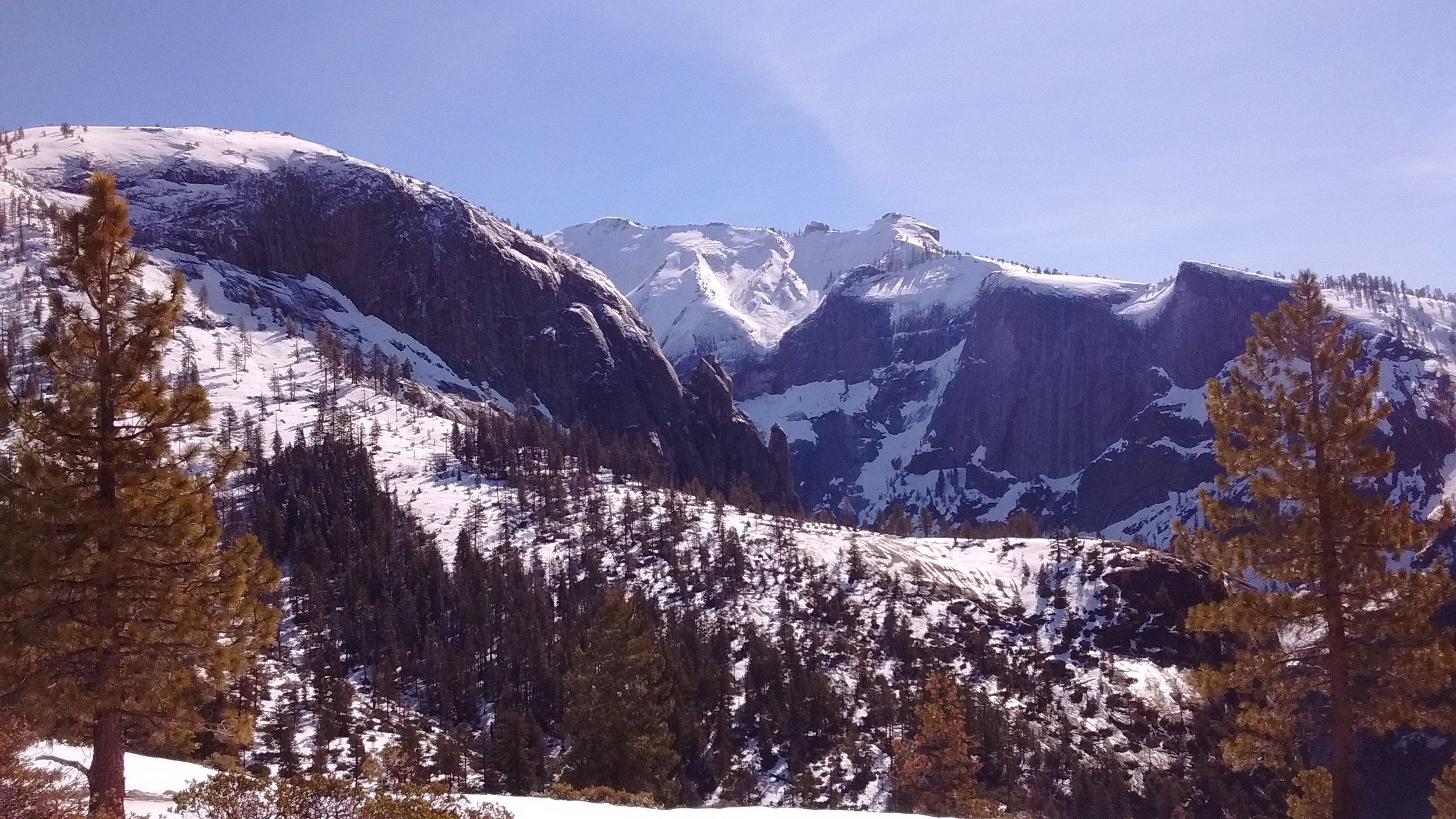 Snow filled Yosemite