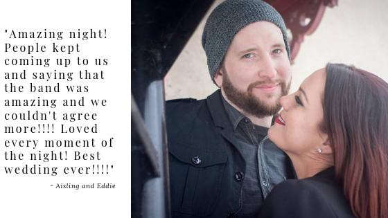 Aisling and Eddie Wedding Testimonial