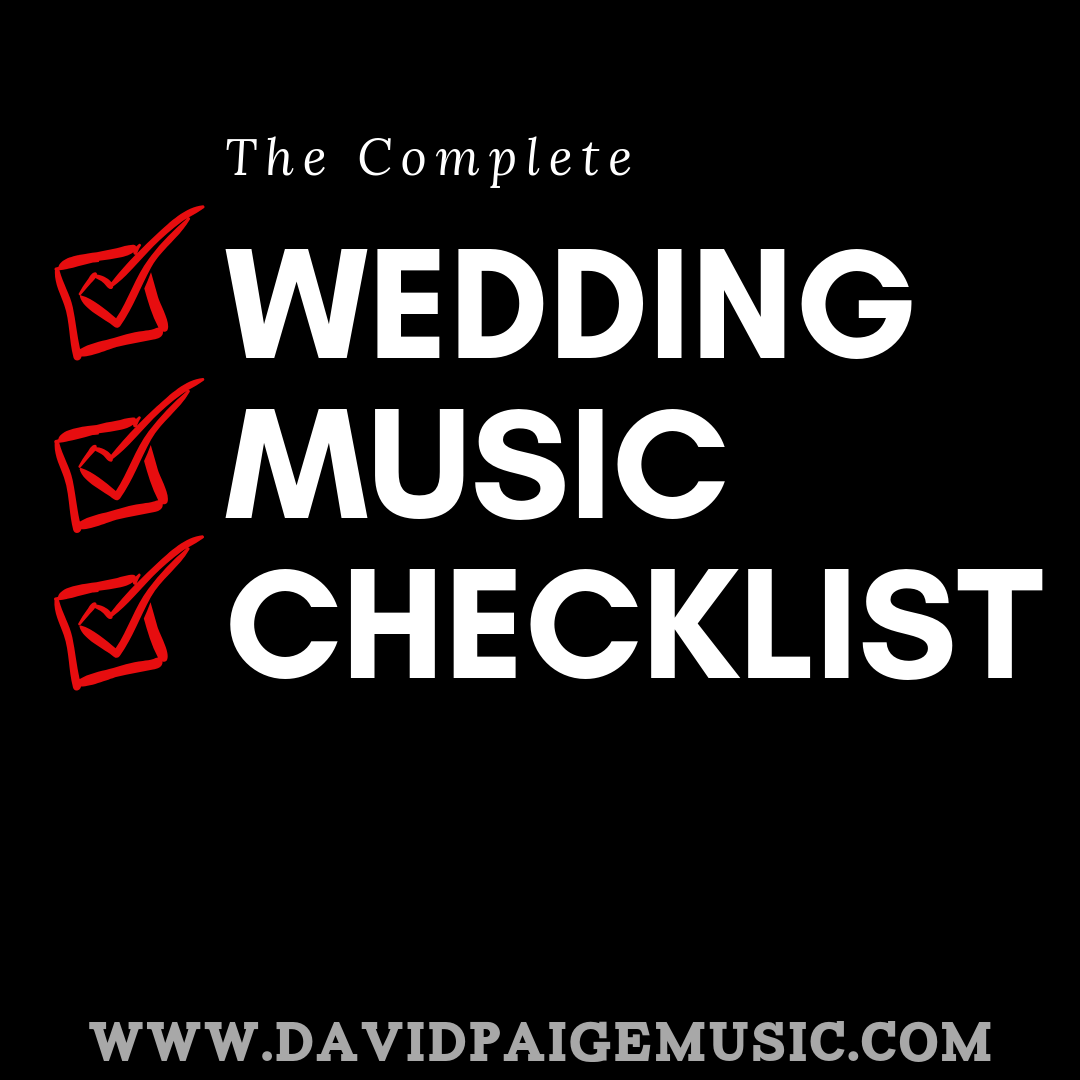 The Complete Wedding Music Checklist Graphic - David Paige Music.png