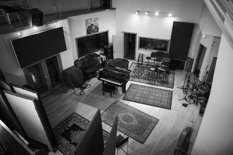 Main recording room at 800 East Studios