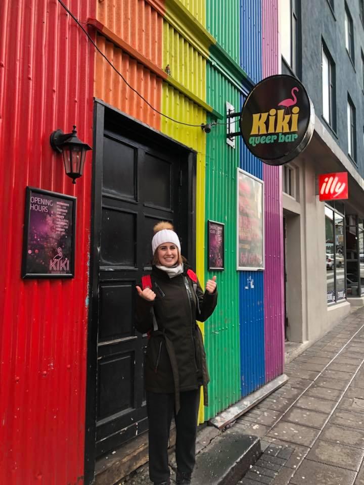 Kiki Queer Bar in Reykjavik, Iceland.