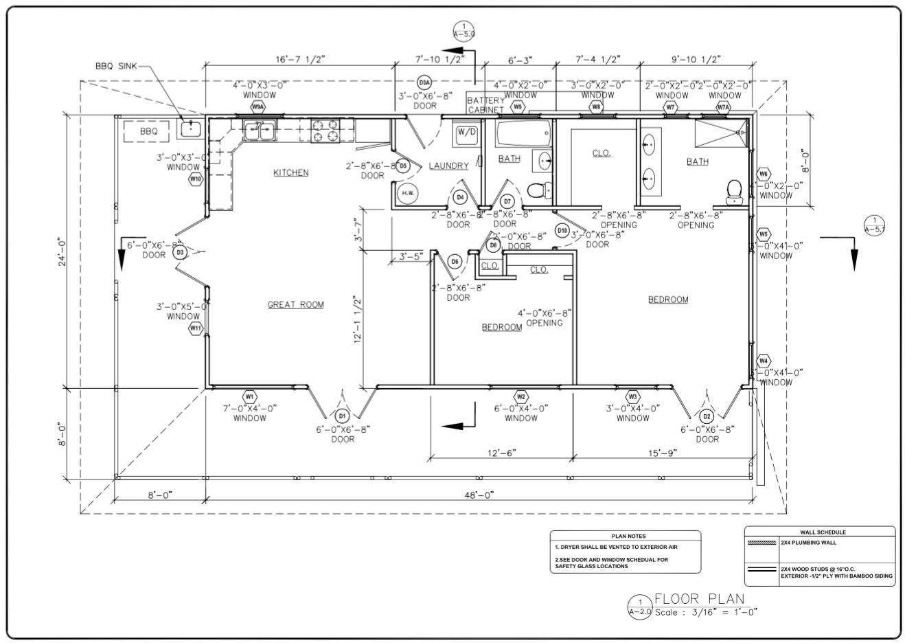 Bali 1152 - Floorplan