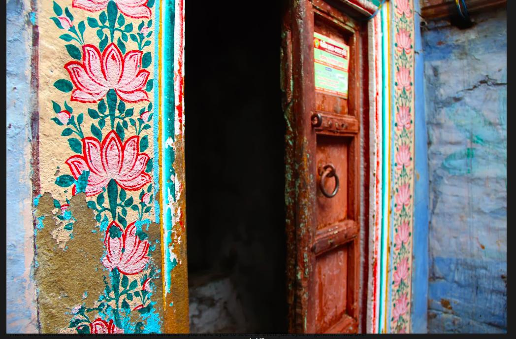 Doorways of Varanasi