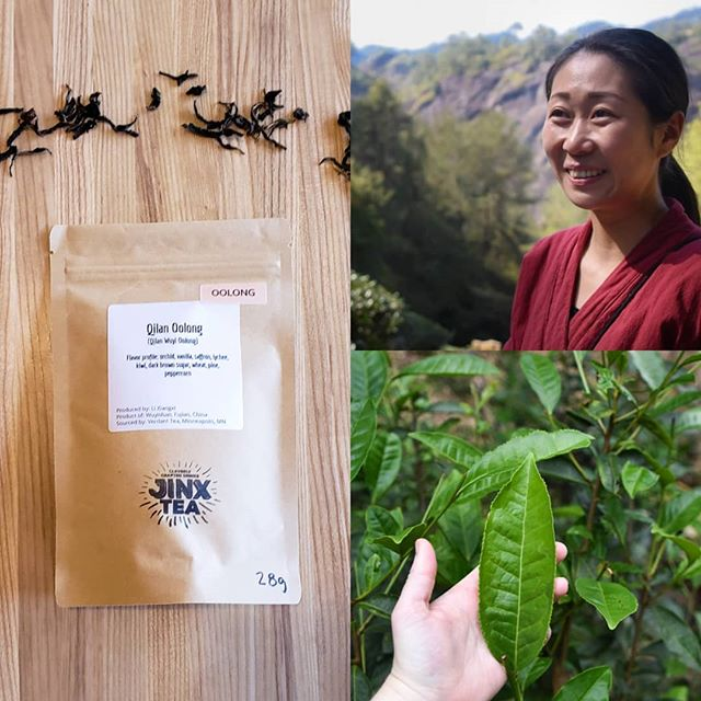 Enjoy your favorite Jinx loose leaf teas at home and work! ☕🍵 ☕ 🍵 Award winning Qilan Oolong, grown in the Wuyi Ecological Preserve ⛰ 🌱 and hand-picked by the Li Family, is one of many exquisite teas available for purchase. Jinx Tea - 4503 France Ave S MPLS, MN 55410  #tea #jinxtea #tealover #looseleaftea #sustainablyfarmed #organictea #minneapolis #foodieapolis #mneats #minnesotafoodie #mnfoodblogger #goodforme